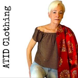 Atid Clothing - Chula Off Shoulder Top, SO CUTE!